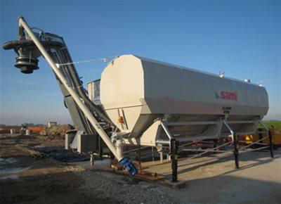 SPF42/DE LOW-LEVEL Cement Silo
