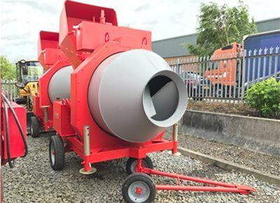 Reversible Drum Mixers | Concrete Mixers For Sale UK | Utranazz