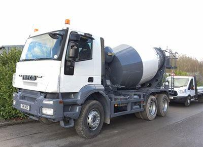1 off Used IVECO / HYMIX 6/7m3 Standard Transit Concrete Mixer (2011)