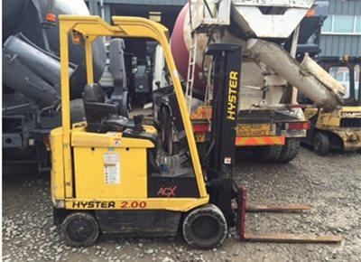 1 off Used HYSTER model E2XMS 2 Ton Electric Forklift (2005)