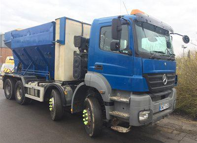 1 off Refurbished MERCEDES / HYDROMIX ELKIN 12YS Volumetric Mobile Concrete Mixer (2007)