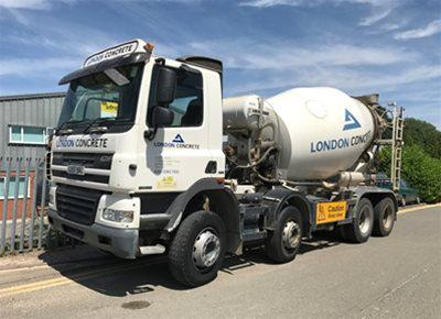 1 off Used DAF / LIEBHERR 8/9m3 Standard Transit Concrete Mixer (2008)