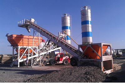 Ensure High-Quality Concrete with a Utranazz Wet Batching Plant