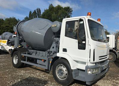 1 off Used IVECO / HYMIX 5m3 Mini-Mix Transit Mixer (2005)