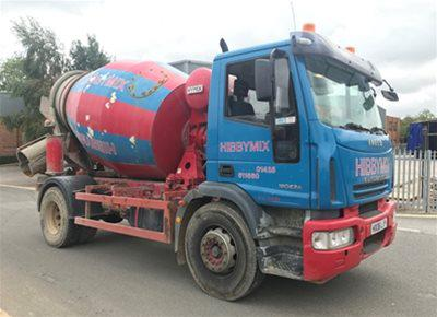 1 off Used IVECO / HYMIX 5m3 Mini-Mix Transit Mixer (2006)
