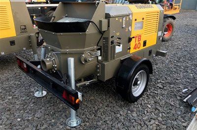 Our New Turbosol Equipment at the UK Concrete Show 2018