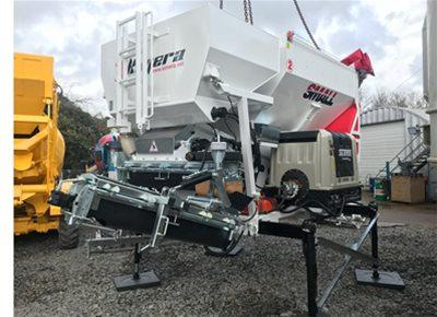 1 off New KIMERA model KS25 SMALL Mobile Concrete Batching Plant (2018)