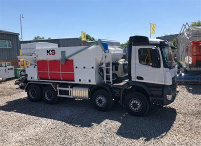1 off New HYDROMIX / KIMERA model K9 Mobile Batching Plant (2018)