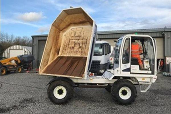 Utranazz Site Dumpers are Ideal for Tunnels, Mining & Construction
