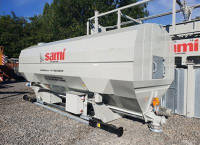 2 off Ex-Hire HYDROMIX / SAMI Eurosilo SPF32/DE-B Low Level Transportable Silos (2018 & 2019)
