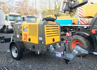 1 off New HYDROPUMP / TURBOSOL model TB40/T Trailer Mounted Concrete Pump (2018)