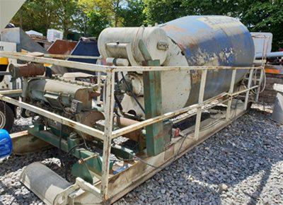 1 off Used HYMIX model UTZ12000 12m3 Concrete Remixer / Agitator (2007)