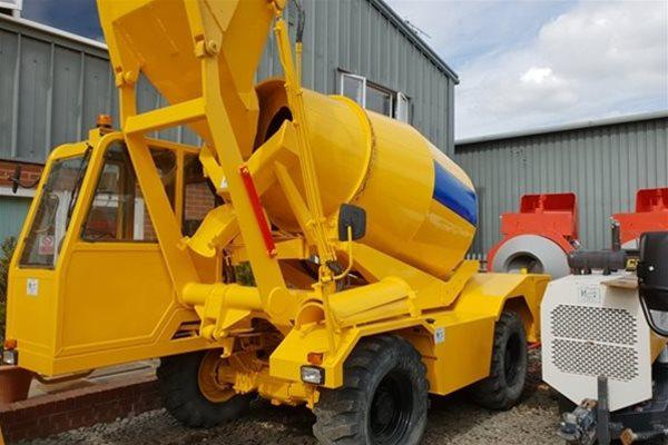 The Ideal Rough Terrain Concrete Mixers for Tunnels and Small Sites