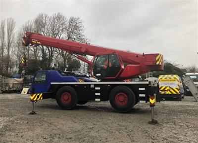 1 off Used TEREX-PPM model ATT400/3 All Terrain Mobile Crane (2002)