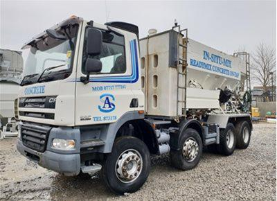 1 off Used DAF / HYDROMIX ELKIN 12YS Volumetric Mobile Concrete Mixer (2008)