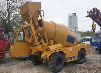 Self Loading Rough Terrain Concrete Mixers For Sale Utranazz