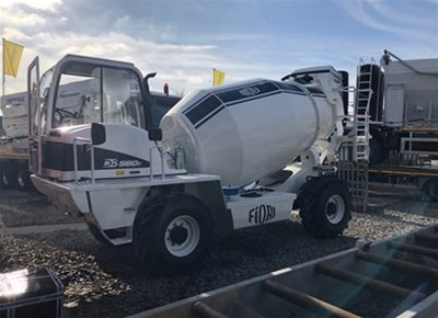 1 off New HYDROMIX / FIORI model DB560T Rough Terrain Tunnel Concrete Mixer (2020)