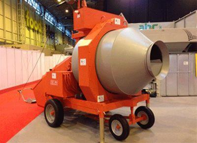 Reversible Drum Concrete Mixers