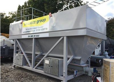 1 off Used HYDROMIX 50T Low-Level Cement Silo (2019)