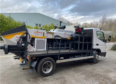 1 off Used HYDROPUMP model LS600 Concrete Line Pump (2014)