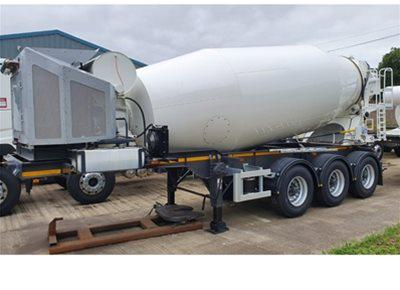 1 off New DENNISON / McPHEE 12m3 Trailer-mounted Concrete Mixer (2020)