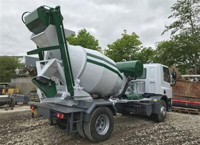 Self-Loading Concrete Truck Mixers
