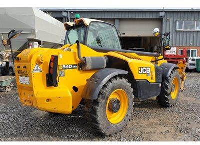 1 off Used JCB model 540-140 Telehandler (2016)