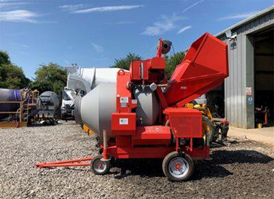 1 off Used HYDROMOIX BIR750/ID Reversible Drum Concrete Mixer (2017)