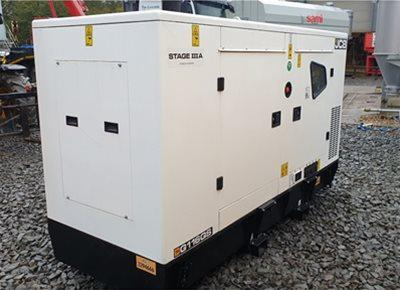 2 off New JCB model G116 QS 110kVA Super Silent Generator (2020)