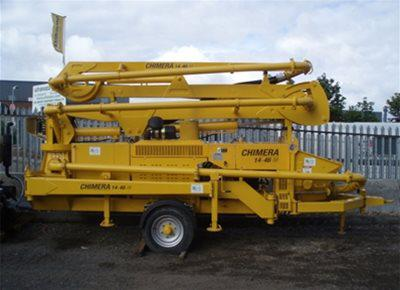 Trailer-Mounted Boom Pumps