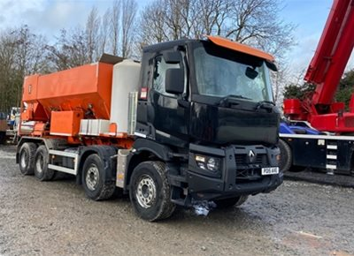 1 off Used RENAULT / BAYLYNX model 10M60 10m Volumetric Concrete Mixer (2015)
