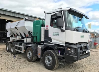 1 off Ex-hire HYDROMIX / X21/UTZ 9m3 Volumetric Concrete Mixer (2017)