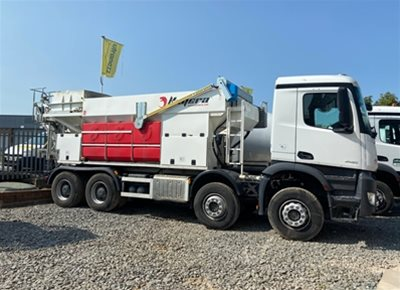1 off Ex-hire HYDROMIX / KIMERA model K9 Mobile Volumetric Concrete Mixer (2019)