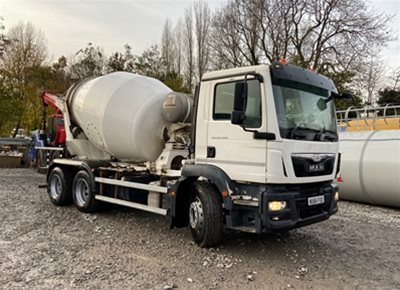 1 off MAN / PUTZMEISTER (INTERMIX) model IMI 6.1 UL 6/7m3 Concrete Mixer (2016)
