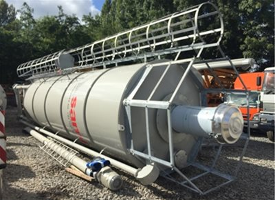 1 off New HYDROMIX / SAMI model SILMATIC SM 24/43 DE Vertical Cement Silo (2020)
