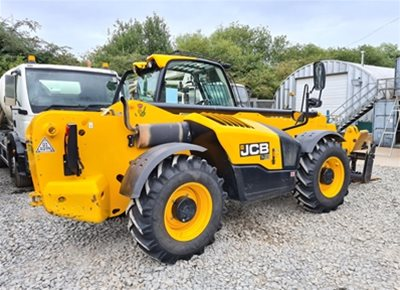 1 off Used JCB LOADALL model 540-140 Telehandler (2017)