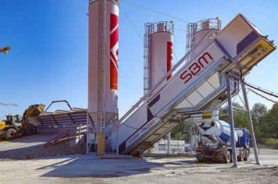 New SuperMobile Concrete Mixing Plant
