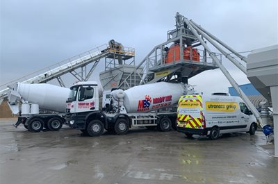 CASE STUDY: Mitcham Building Supplies Invests £500k in New Concrete Batching Facility From Utranazz